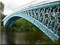 SJ4160 : Iron Bridge, Aldford by David Kitching