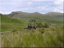 SH5247 : Cwm Ciprwth Waterwheel by David Kitching