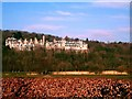 SD4178 : The Grand Hotel, Grange-Over-Sands by Mike and Kirsty Grundy