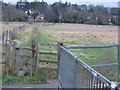 SU9993 : A footpath  leading to Chalfont St Giles by Pip Rolls