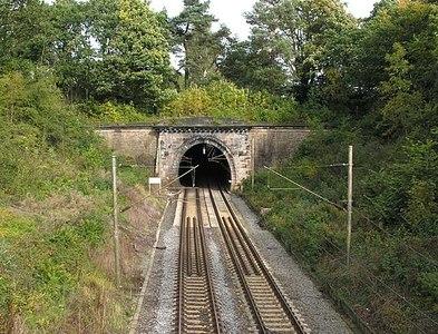SJ9077 : Prestbury tunnel by David Kitching
