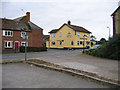 TL1436 : Meppershall High Street, Beds by Rodney Burton