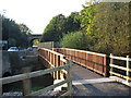 ST7867 : Footbridge over the By Brook by Phil Williams