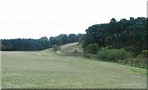 NT0072 : Farmland, Tartraven. by Richard Webb