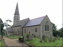TM3674 : Walpole (Suffolk) St Mary's Church by ChurchCrawler