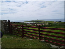 SH1121 : Bardsey Lighthouse by John Naisbitt