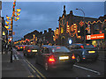 SK5906 : Diwali lights, Belgrave Road, Leicester by Kate Jewell