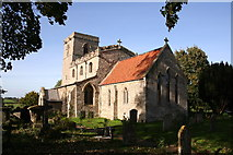 SK9446 : St.Nicholas' church, Normanton, Lincs. by Richard Croft