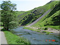 SK1451 : River Dove, Dovedale by Cathy Cox