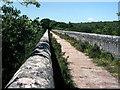 SX0557 : Top of Treffrey's viaduct by Crispin Purdye