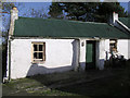 H4677 : Cottage at Erganagh Glebe by Kenneth  Allen