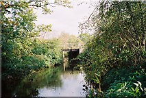 SU8573 : Cokeley Bridge, over The Cut by Andrew Smith