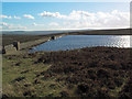 SD9839 : Keighley Moor reservoir by David Spencer