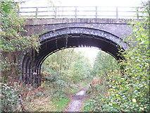 SE3413 : Bridge over dismantled railway. by Steve Partridge
