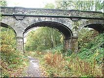 SE3314 : Bridge over dismantled railway. by Steve Partridge