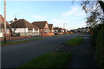 SK5405 : Sports Road, Glenfield, Leicester by Kate Jewell