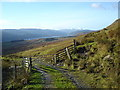 NN6439 : Gate on boundary of National Trust for Scotland land at Ben Lawers by paul birrell