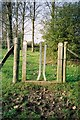 SU8871 : Sort of gate/stile, Warfield by Andrew Smith