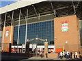 SJ3693 : The Kop, Liverpool's Anfield stadium by Sue Adair