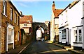 TF8115 : Bailey Gate, Castle Acre by Toby Speight