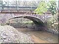 SJ7683 : The Ashley road bridge over the Birkin Brook by Ian Warburton