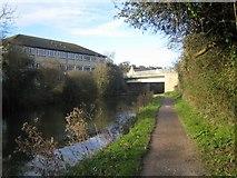 ST8259 : Moulton Drive Road Bridge by Stephen Bashford