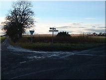 NO5943 : Arbroath to Forfar Crossroads by Derek Robertson