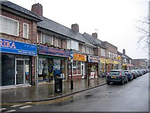 SP1278 : Shirley Shops by David Stowell