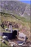 NN0829 : Water Tunnel under Coire Cruachan by Chris Heaton