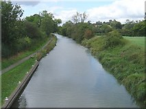 SU2063 : Kennet  &Avon Canal  seen Westerly from Heathey Close Bridge by Michel Van den Berghe