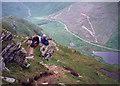 NN2208 : Piece-time on Beinn an Lochain by bill copland