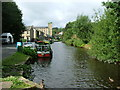 SE0713 : Huddersfield Narrow Canal, Slaithwaite by Nigel Homer