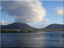 HY2406 : Graemsay and Hoy from Hoy Sound by John Winterbottom