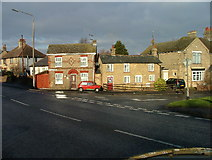 TL2236 : Two tiny houses in Stotfold. by Robin Hall