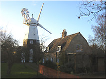 TL4462 : Impington windmill, Cambs by Rodney Burton