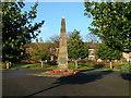 SJ8651 : Tunstall Memorial Gardens by Steve Lewin