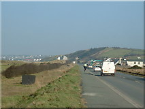 C3430 : Main R238 road on the southern approach to Buncrana by Oliver Dixon
