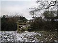 SP2880 : Footbridge Across the Brook Near Allesley Green by John Winterbottom