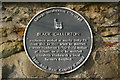 NZ1769 : Plaque on wall at Black Callerton by Phil Thirkell