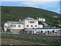 SX1496 : Coombe Barton Inn Crackington Haven Cornwall by Clive Perrin
