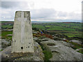 SX0661 : Trig station Helman Tor Cornwall by Clive Perrin