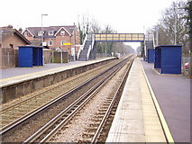 TQ3049 : Nutfield Station by Rib