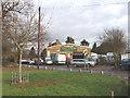 TQ0281 : Love Green Garage, near Iver by David Hawgood