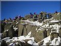 NY2406 : Bowfell Summit by David Williams