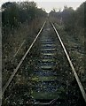 SJ9954 : Disused railway near Ashenhurst Ford by Ralph Mills