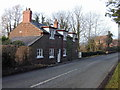 SJ4361 : Smithy Cottage, Chapel Lane by Stephen Charles
