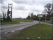 TL9420 : Road Junction on B1022 by Angela Tuff
