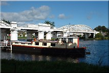 N0341 : Railway Bridge over the Shannon, Athlone by Robert Bone