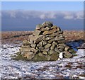 NY2933 : Great Scafell Cairn. by John Holmes