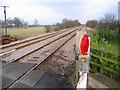 SE8127 : Rail Line to Gilberdyke by Stephen Horncastle